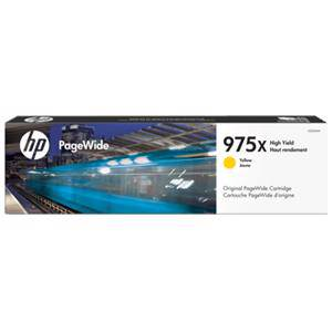 HP 975X Yellow High Yield PageWide Ink Cartridge (7000 Page)
