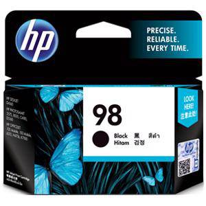 HP 98 Black Ink Cartridge (420 Pages)