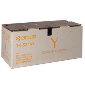 Kyocera TK-5244 Yellow Toner (3000 Pages)
