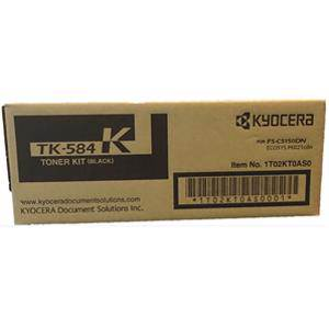 Kyocera TK-584K Black Toner (3500 Pages)