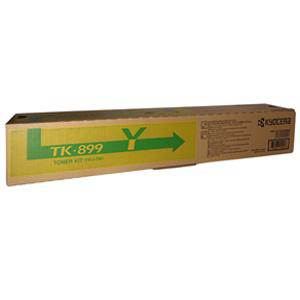Kyocera TK-899 Yellow Toner (6000 Pages)