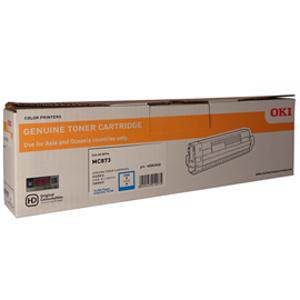 OKI 45862830 Cyan High Yield Toner (10,000 Pages)