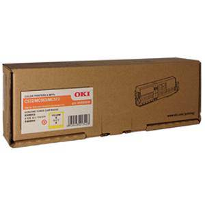 OKI 46490609 Yellow Toner (6000 Pages)